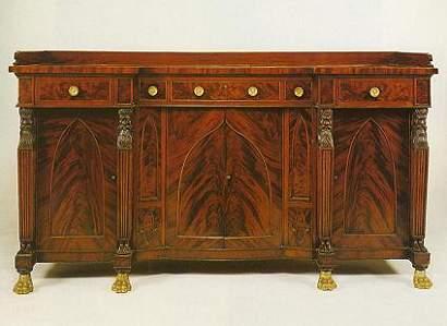 1825 American sideboard