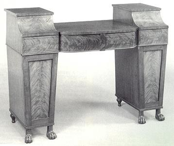 Early sideboard designs